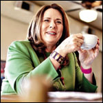 Amtrak Arrive, March 2011: Candy Crowley