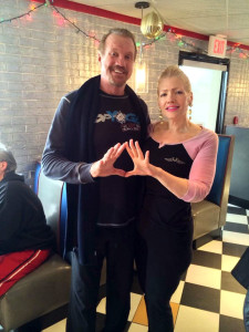 Diamond Dallas Page with Stacey Morris