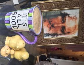 Quiet coffee breaks work wonders too...